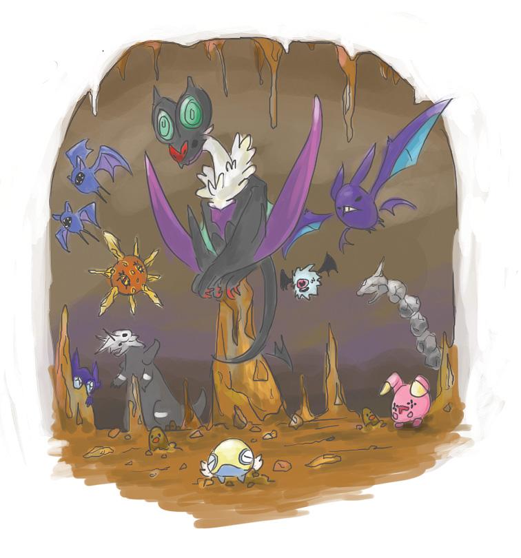 Výsledek obrázku pro pokémon cave
