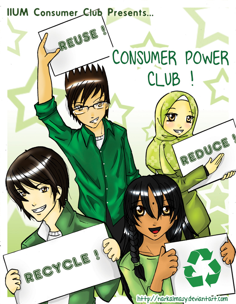 Consumer Power Club ! by narkAlmasy