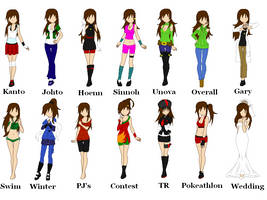 .::Sabrina Oaken Outfits::. by ScoSco-8