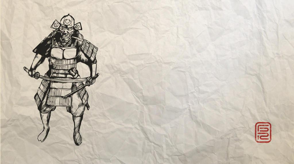 Samurai by gusustavo
