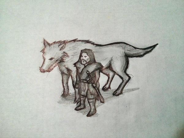 Jon Snow by gusustavo