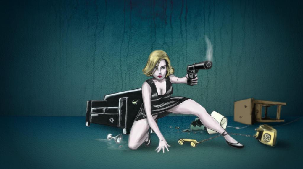 Atomic Blonde by gusustavo