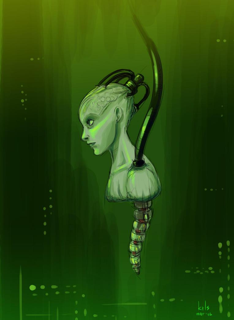 Borg Queen by krls81