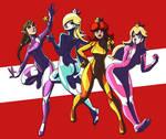 Zero Suit Princesses