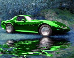 Alien Car by coldplaya