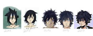 keiji evolution