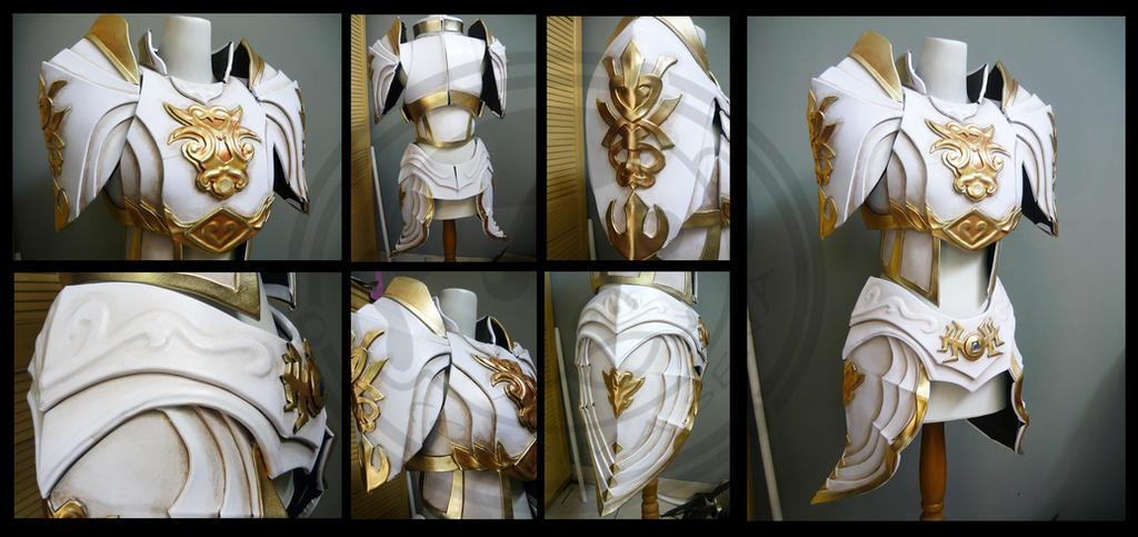 Commission Lineage Female Armor by carlosdouglas