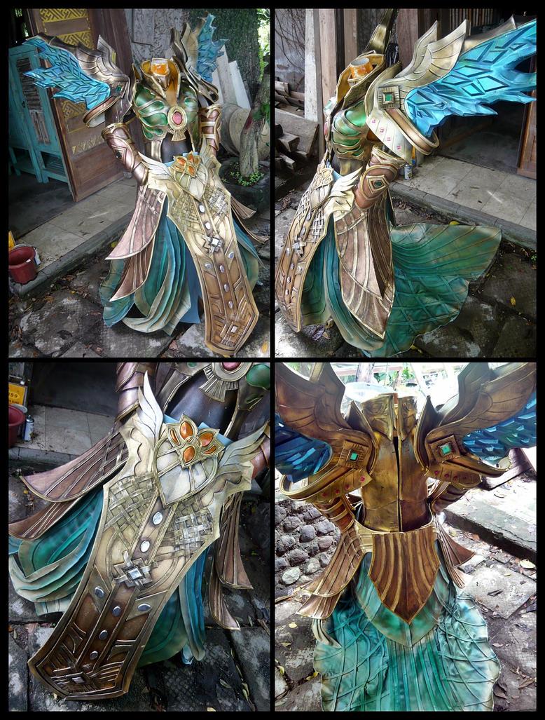 Battle of immortal - Heretic Costume by carlosdouglas