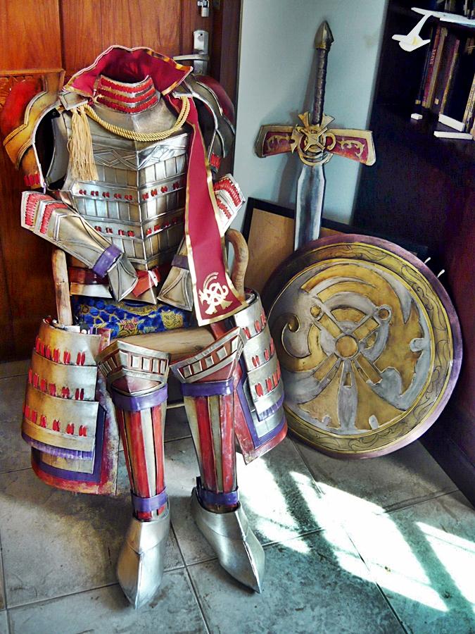 Samurai warriors 4 - Tachibana muneshige costume by carlosdouglas