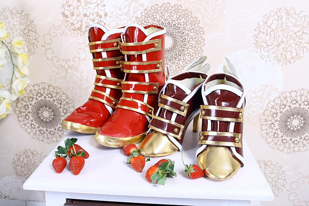 Love Live - Valentine edition boots by carlosdouglas