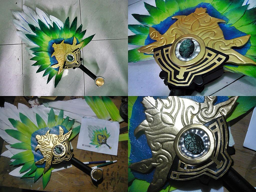 Dynasty warriors 8 - Zhuge liang fan by carlosdouglas