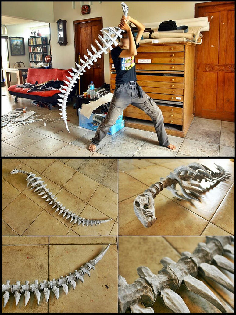Bone wolf sword by carlosdouglas