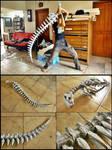 Bone wolf sword
