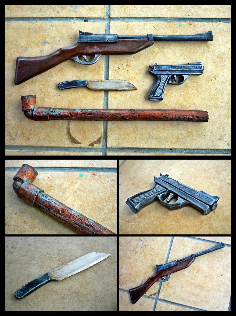 Silent hill weapon by carlosdouglas