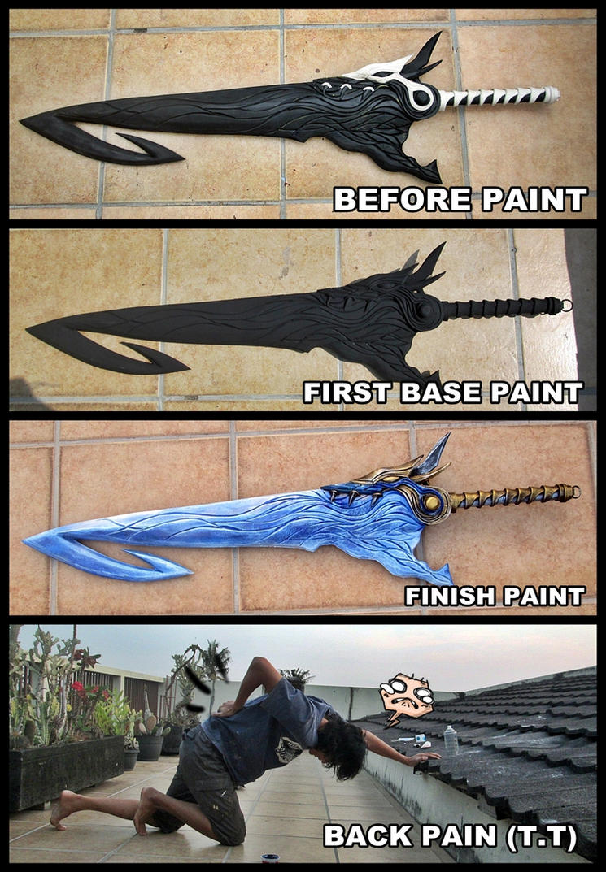 Brotherhood WIP Paint and Pain by carlosdouglas