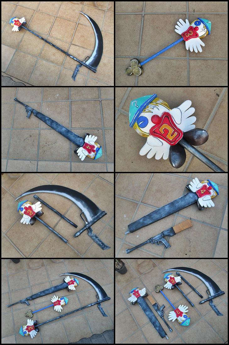 HxH Kite Weapon set by carlosdouglas