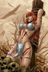 Red Sonja 43 by Maiolo