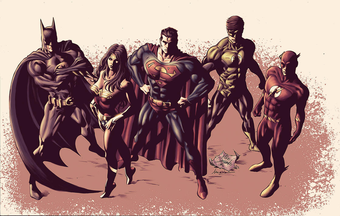 Justice League of America by Maiolo
