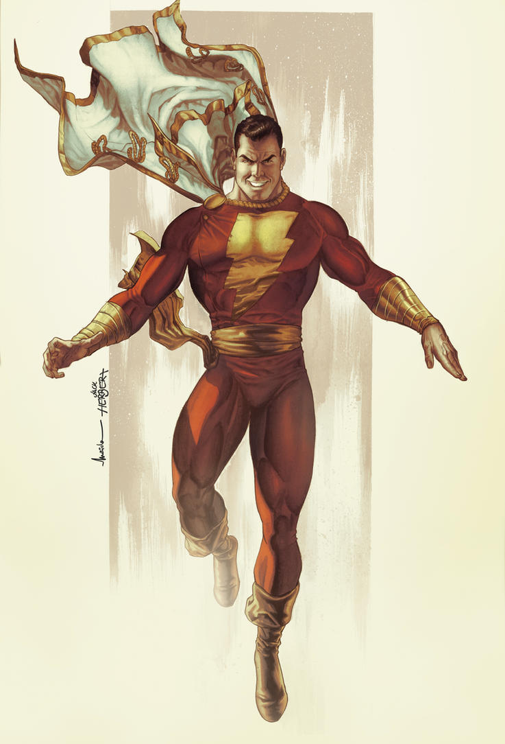 Shazam By Maiolo On DeviantArt