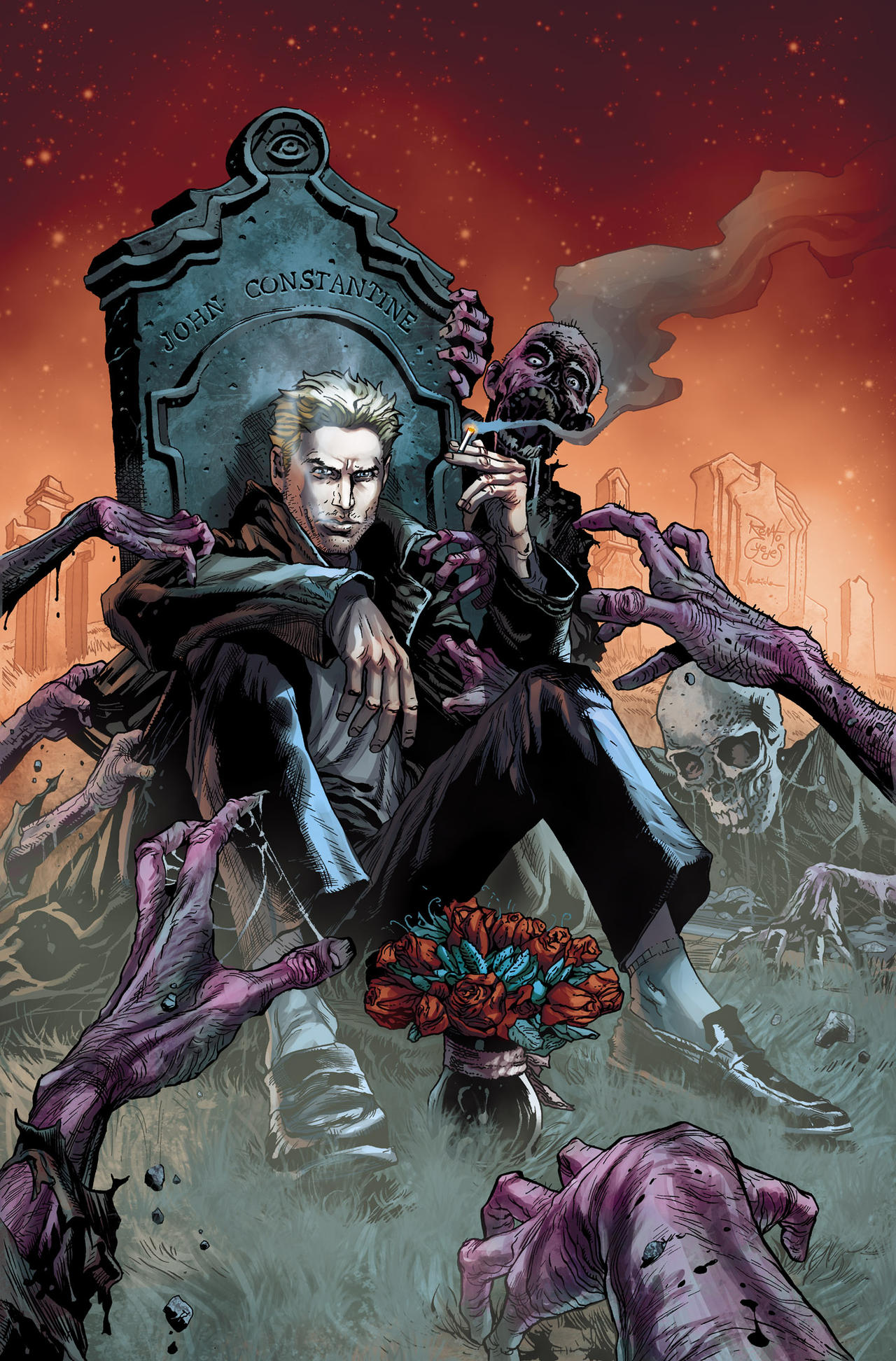 Constantine Cover 01 by Maiolo