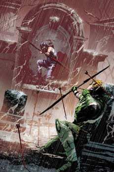 Green Arrow COVER 20 version 2