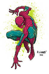 Spiderman by Maiolo