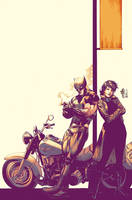 Wolverine e Jubilee by Maiolo