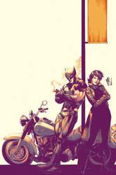 Wolverine e Jubilee