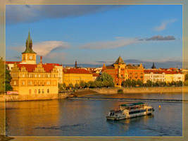 Golden Prague by maska13
