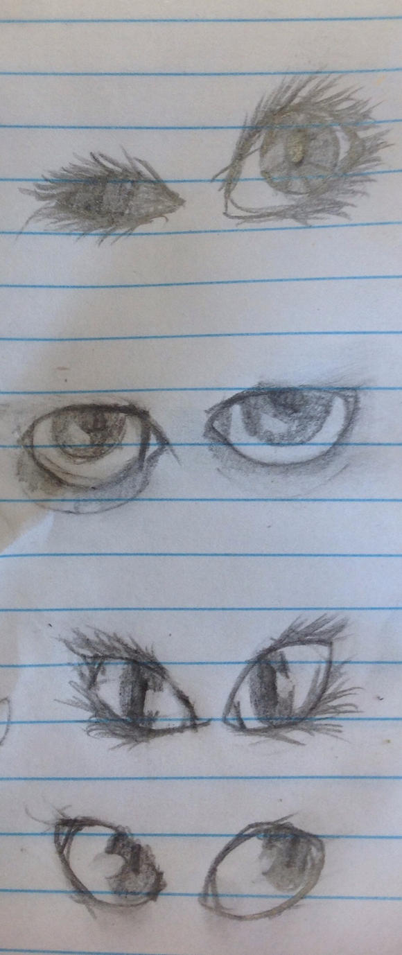 Drop it! {Marieke's art-dump-topic} Eyes_by_akumakitties-d8294cb