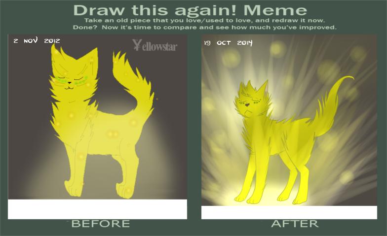 Drop it! {Marieke's art-dump-topic} Draw_this_again_meme__yellowstar_by_akumakitties-d83eiy4