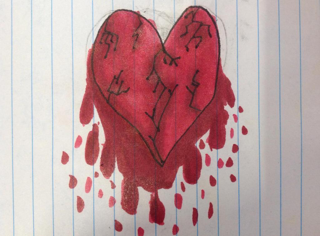 Drop it! {Marieke's art-dump-topic} Me_and_my_broken_heart_by_akumakitties-d84bmg6