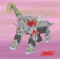 Dinobot Sludge Argentinosaurus mode by destallano4