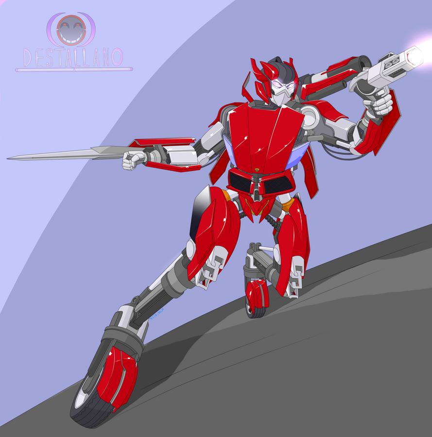 Autobot Sideswipe by destallano4