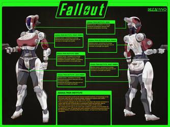 Assaultron Institute CONCEPT by destallano4