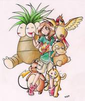Pokemon Team by chocolate-hero