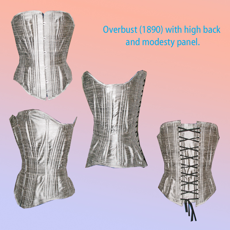 1890s Corset by chasingrainbows