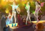 Fairies of Mirkwood  Secret by Helesssart