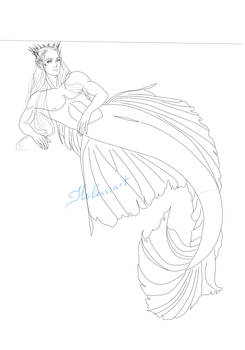 Thranduil the merman