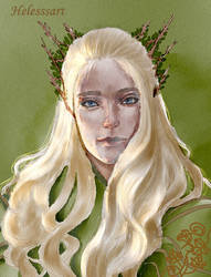 Thranduil and few words about my instagram. by Helesssart
