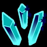 Frozen Crystals cutie mark by MintysArt
