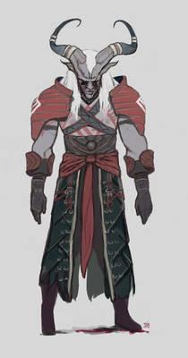 Qunari finished
