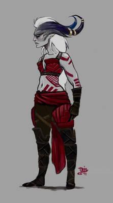 Qunari Warrior Female