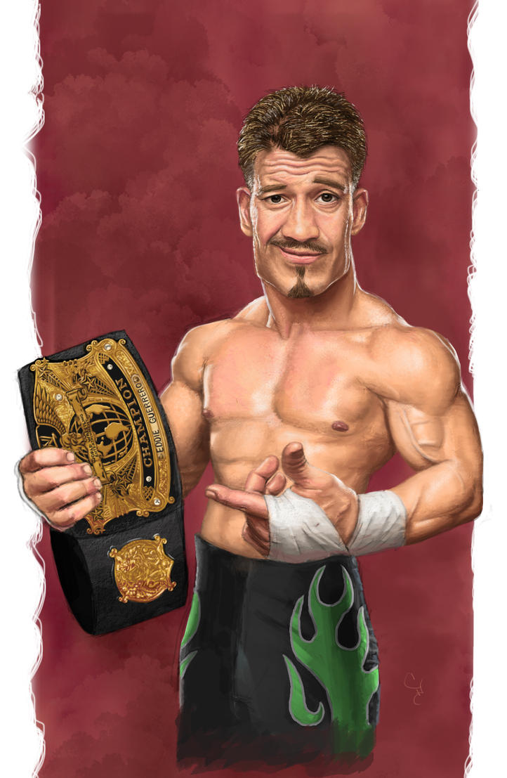 Eddie Guerrero by 10SunsUp