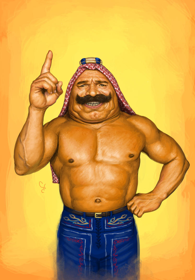 The Iron Sheik by 10SunsUp
