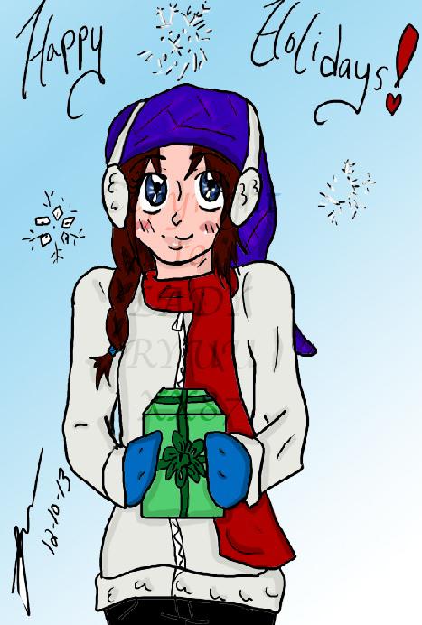 Happy Holidays 2013 by Lady-RyuuXX87