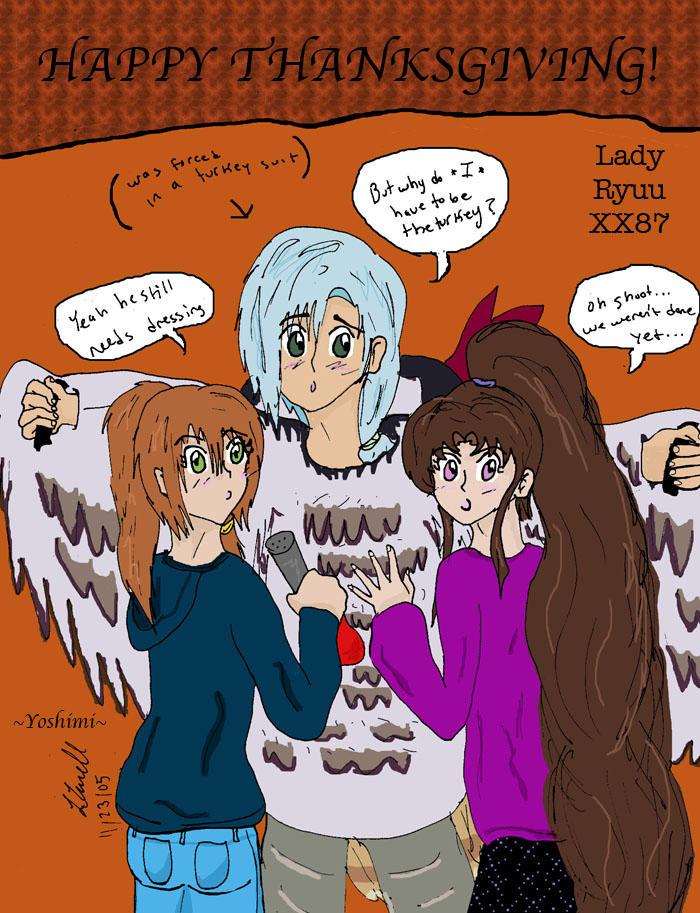 Happy Thanksgiving by Lady-RyuuXX87