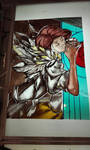 Transistor Red stained glass (WIP)