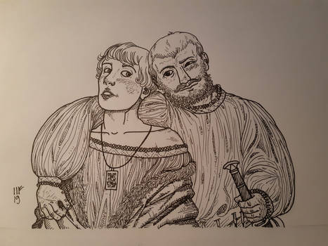 16th century Pretty Boy and Jock