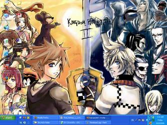 Kingdom Hearts II Wallpaper by SugarGaL